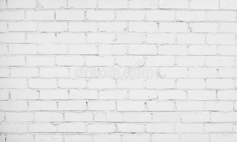 Abstract White Brick Background. Abstract Old Whitewash Brickwall Background Texture. White Brick Wall in the room. Grunge Wallpaper or Web banner With Copy stock photos