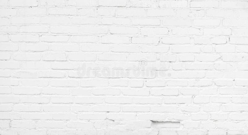 Abstract White Brick Background stock photo