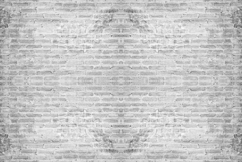 Abstract white brick wall background royalty free stock photo