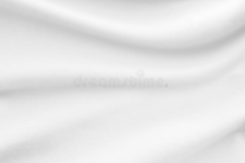 White fabric cloth texture blur background. Abstract white fabric cloth texture blur background stock photography