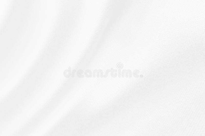 Abstract white fabric cloth texture blur background. Close up stock images