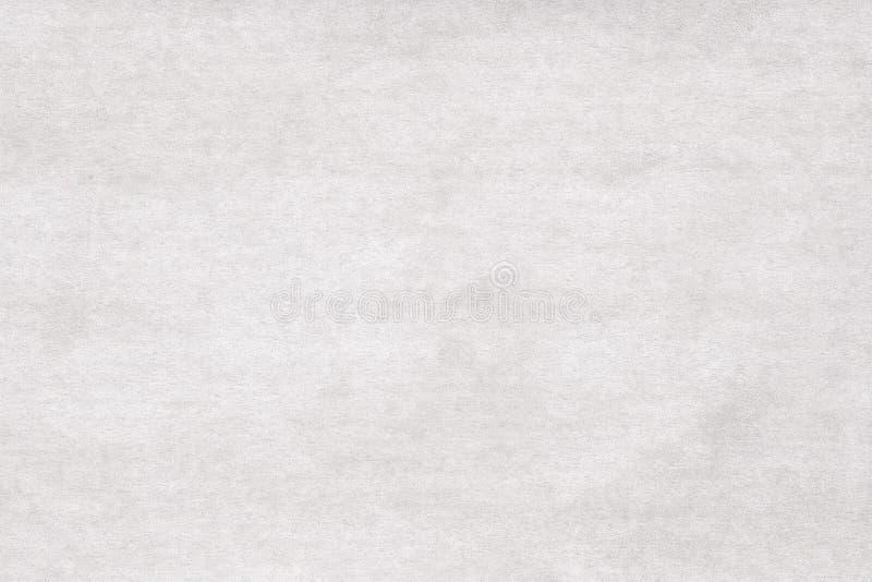 Abstract white felt background. Washed velvet background. stock image