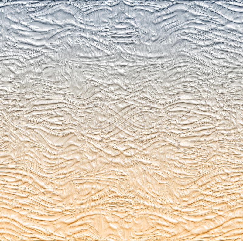 Abstract white gray and brown background with smooth lines royalty free illustration
