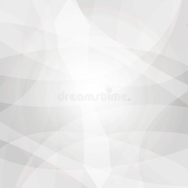 Abstract white and Gray Low poly Background with copy-space royalty free illustration