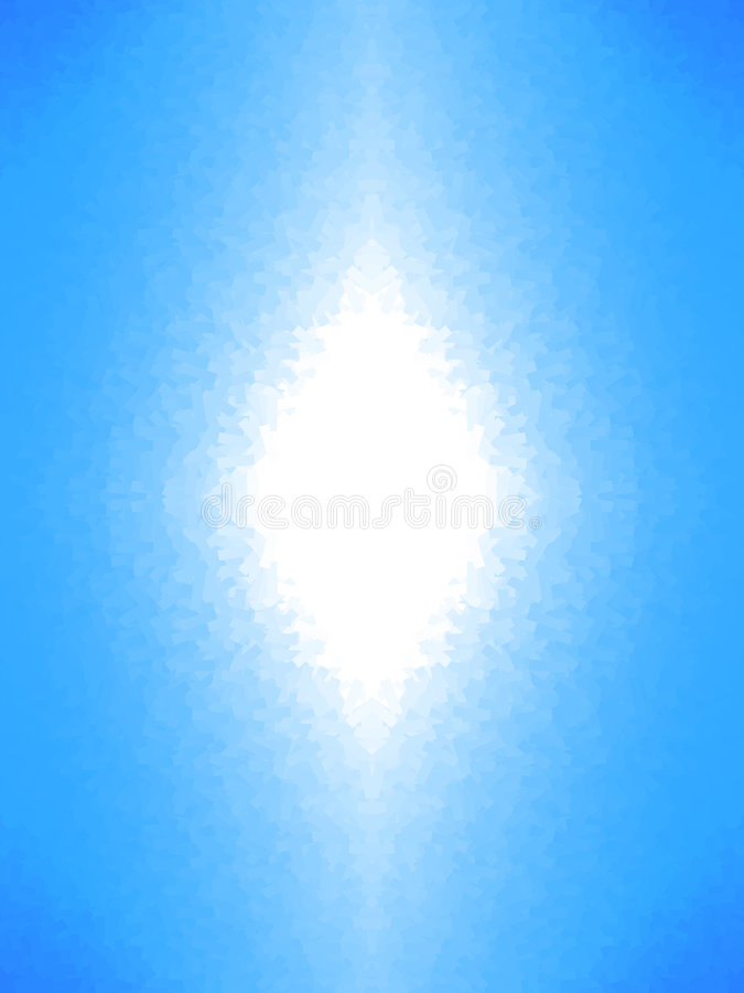 Abstract White Light stock image