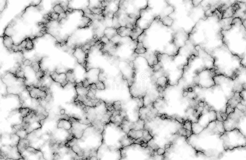 Abstract white marble texture. Vector stock illustration