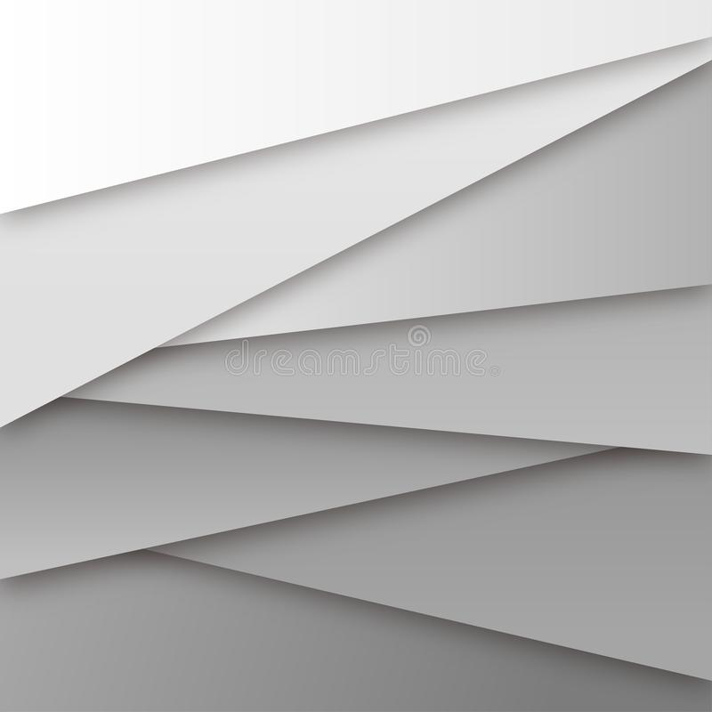 Abstract White Paper Style Background Multipurpose Vector.  royalty free illustration