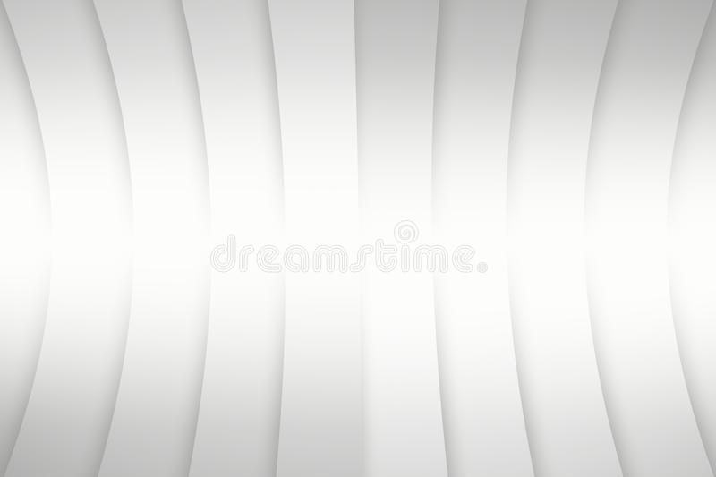 Abstract white pattern background, curve line with shadow. Abstract white pattern background, curve line smooth with shadow vector illustration