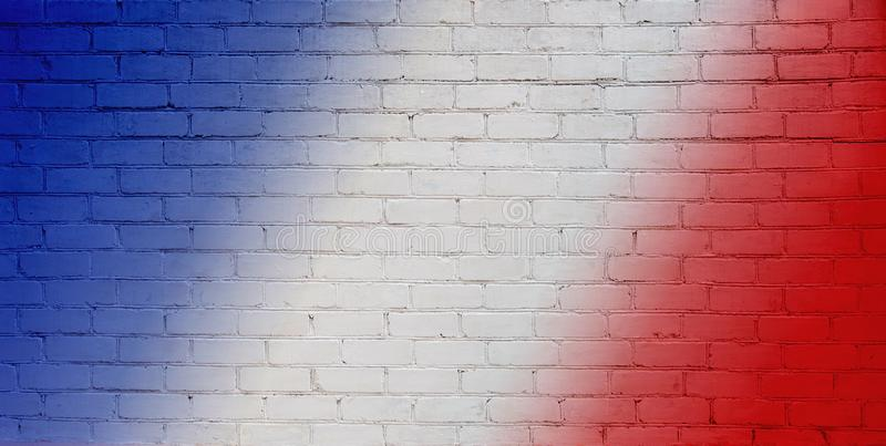 Abstract White, red and blue Background royalty free stock photo