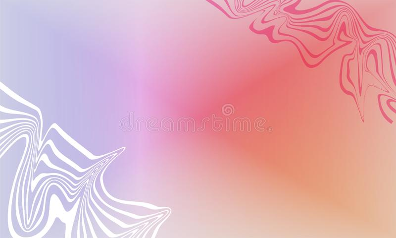 Abstract white  and red blue blur texture wallpaper   background. Abstract white and red blue   texture background any cover lovely print or official background royalty free illustration