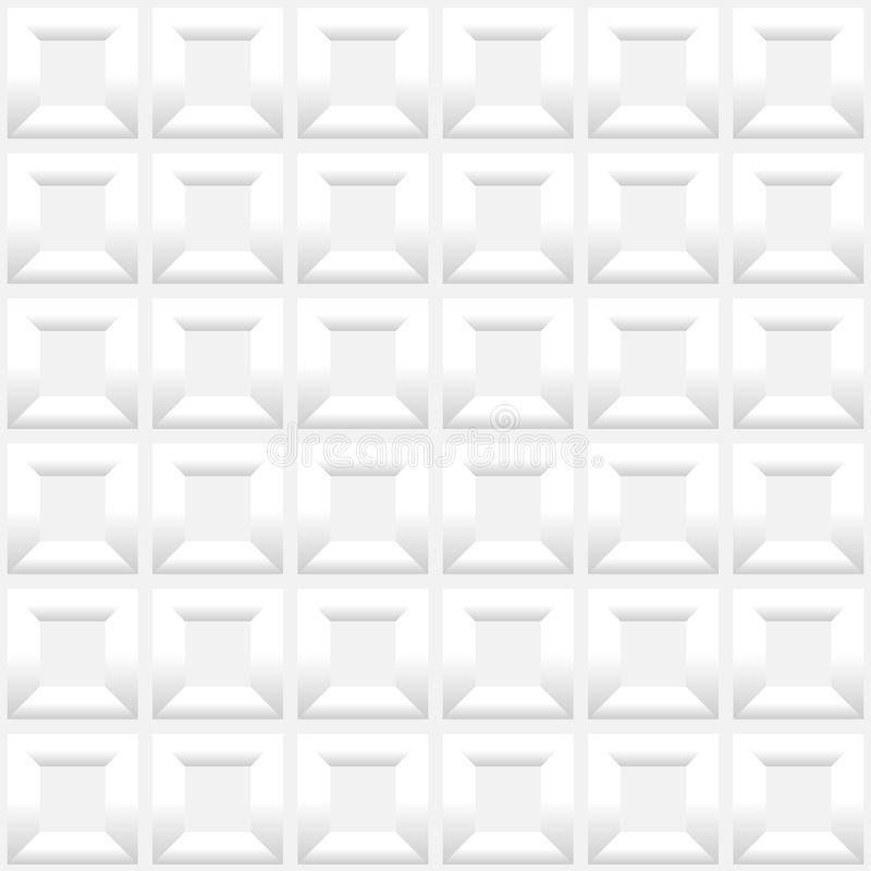 Abstract White Seamless Pattern Background Stock Photography