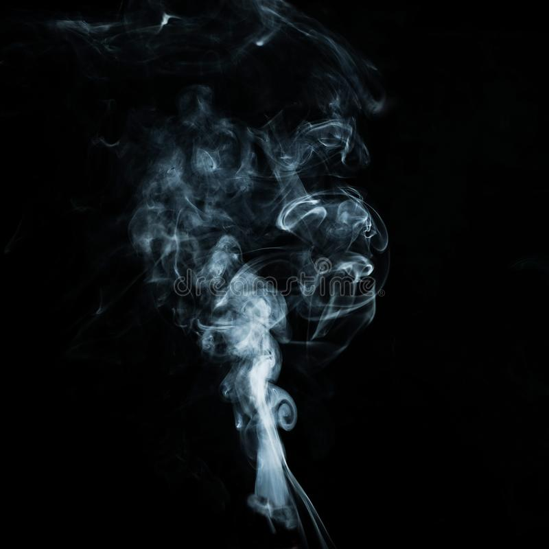 Free Abstract White Smoke Effect Isolated On Background Royalty Free Stock Photos - 156073338