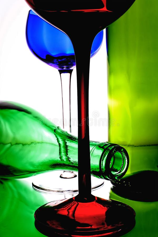 Abstract Wine Background Design stock photo