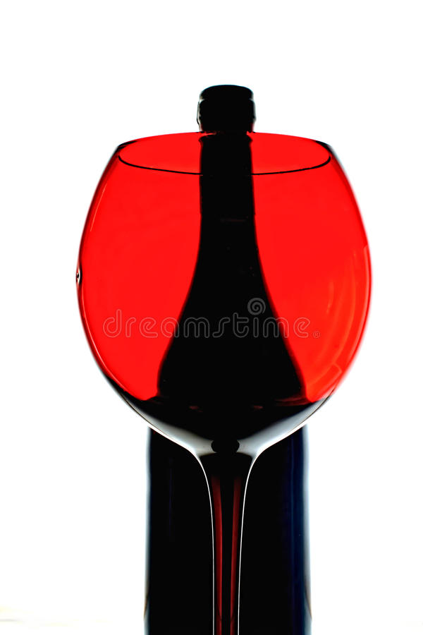 Abstract Wine Background Design royalty free stock image