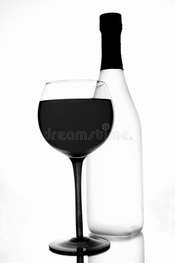 Abstract Wine Background Design stock image