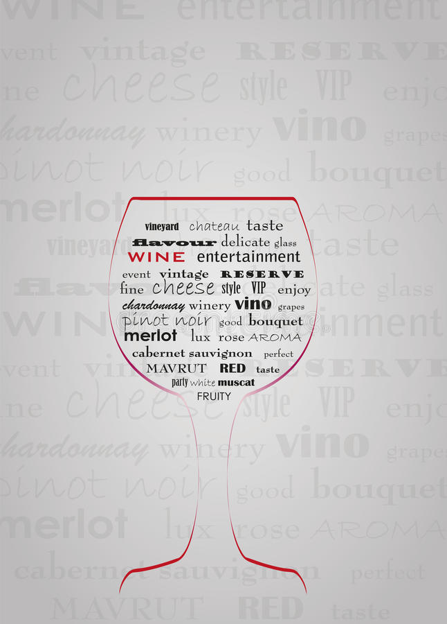 Abstract Wine Concept Stock Images