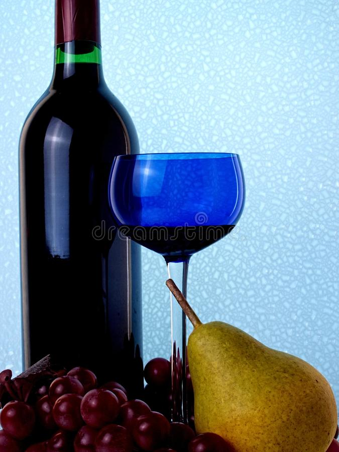 Abstract Wine Glassware