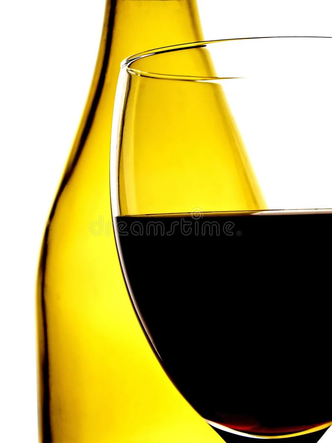 Abstract Wine Glassware Background Design royalty free stock photos