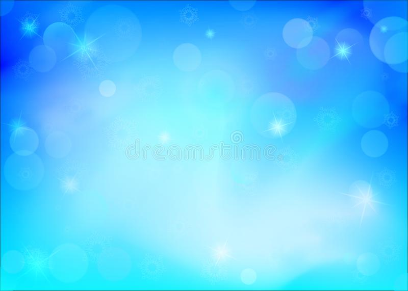 Download Abstract Winter Background. Stock Illustration - Illustration of design, bokeh: 100328415