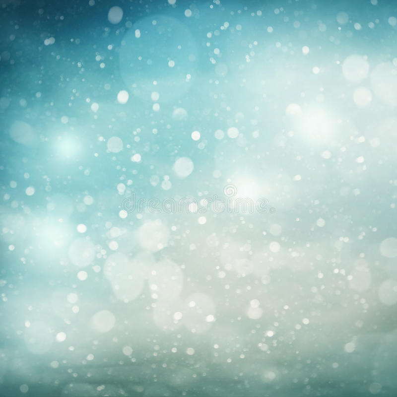 Abstract winter stock illustration