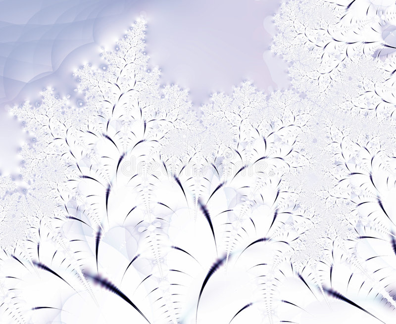 Abstract winter trees background stock images