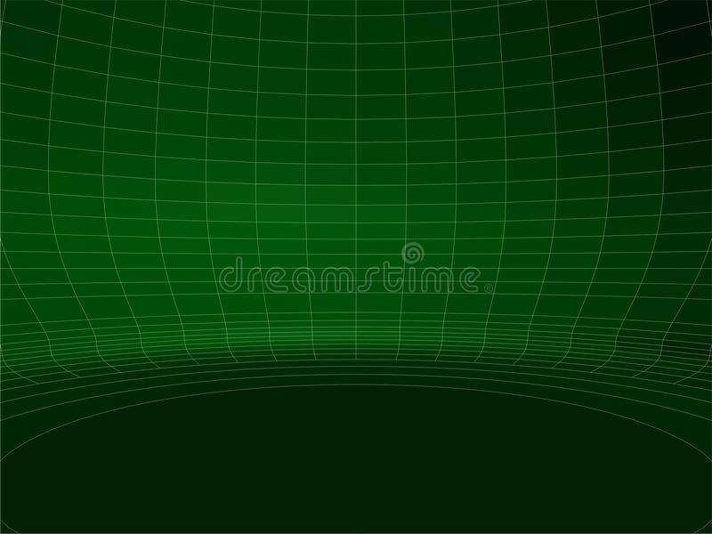 Download Abstract Wire Net Green Round Wall Structure Vector 02 Stock Photo - Image: 31550490