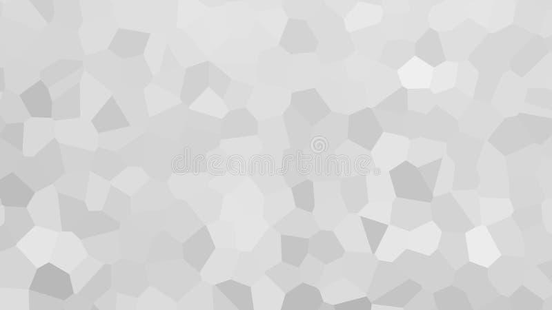 Abstract Wit Gekristalliseerd Behang Als achtergrond stock illustratie
