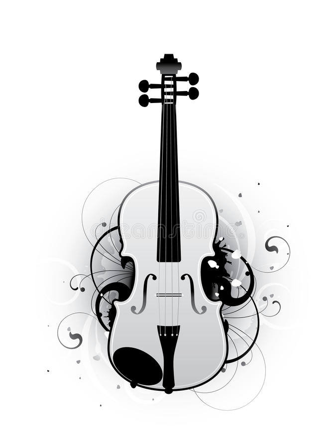 Free Abstract With Violin Stock Photos - 15694923