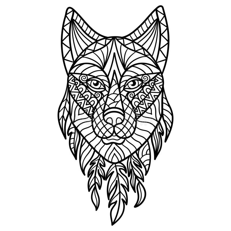 Wolf Coloring Page Stock Illustrations – 587 Wolf Coloring Page Stock  Illustrations, Vectors & Clipart - Dreamstime