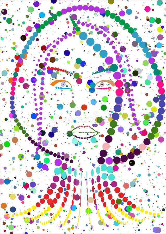 abstract woman stock photos