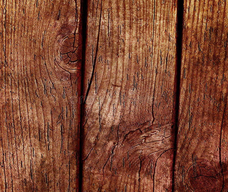 Abstract Wooden Background Stock Photography