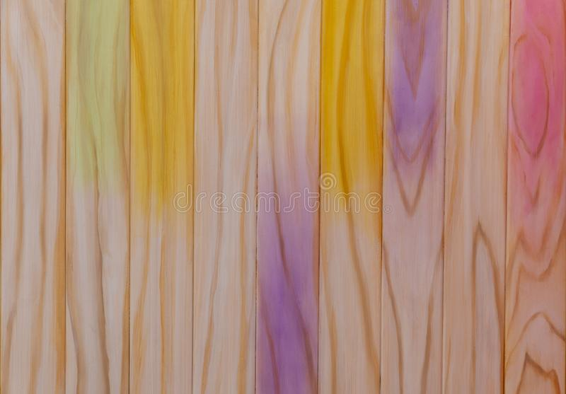 Abstract wooden effect background. Abstract multi coloured wooden effect background stock photography