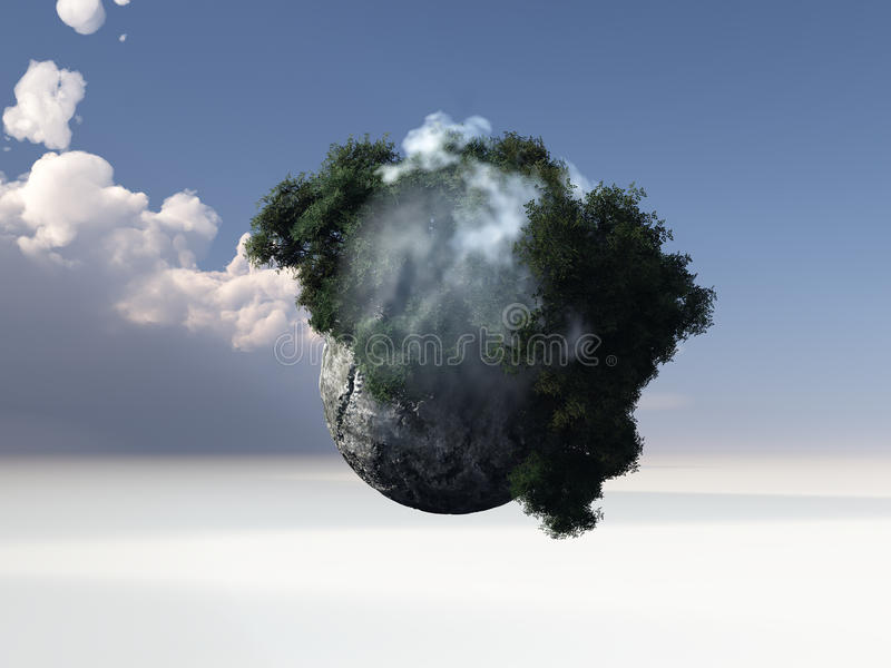 Download Abstract world stock illustration. Illustration of sience - 22478735