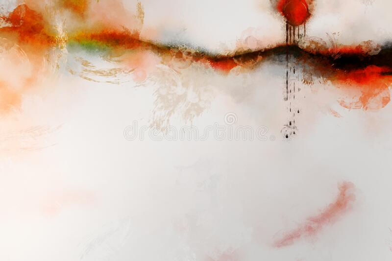 Abstract wound with tears royalty free stock photos