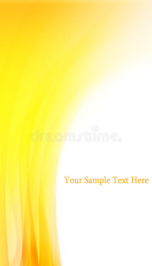 Abstract yellow background. Abstract yellow shape background with space for text
