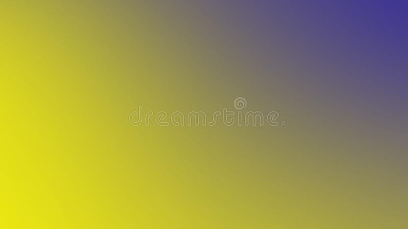 Abstract yellow - blue screen design for web. Soft color gradient background. Design element. Abstract yellow - blue screen design for web. Soft color gradient royalty free illustration
