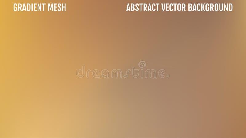 Abstract yellow blur background gradient. Vector illustration.  stock illustration