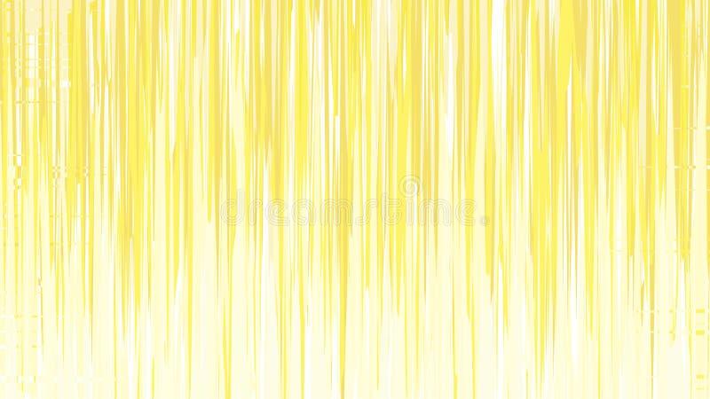 Abstract Yellow e White Vertical Lines and Strike Background Vetor Image ilustração stock