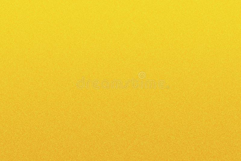 Abstract yellow grained texture royalty free illustration
