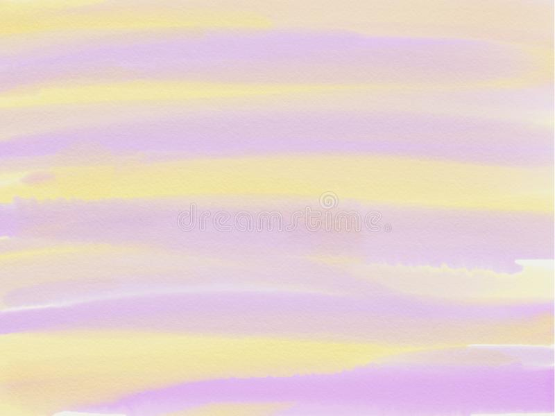 Abstract yellow and pink background. raster illustration stock photography
