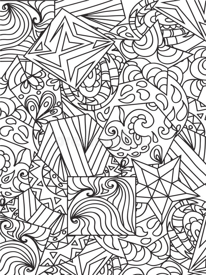 download abstract zentangle stock illustration illustration of zentangle 56196026