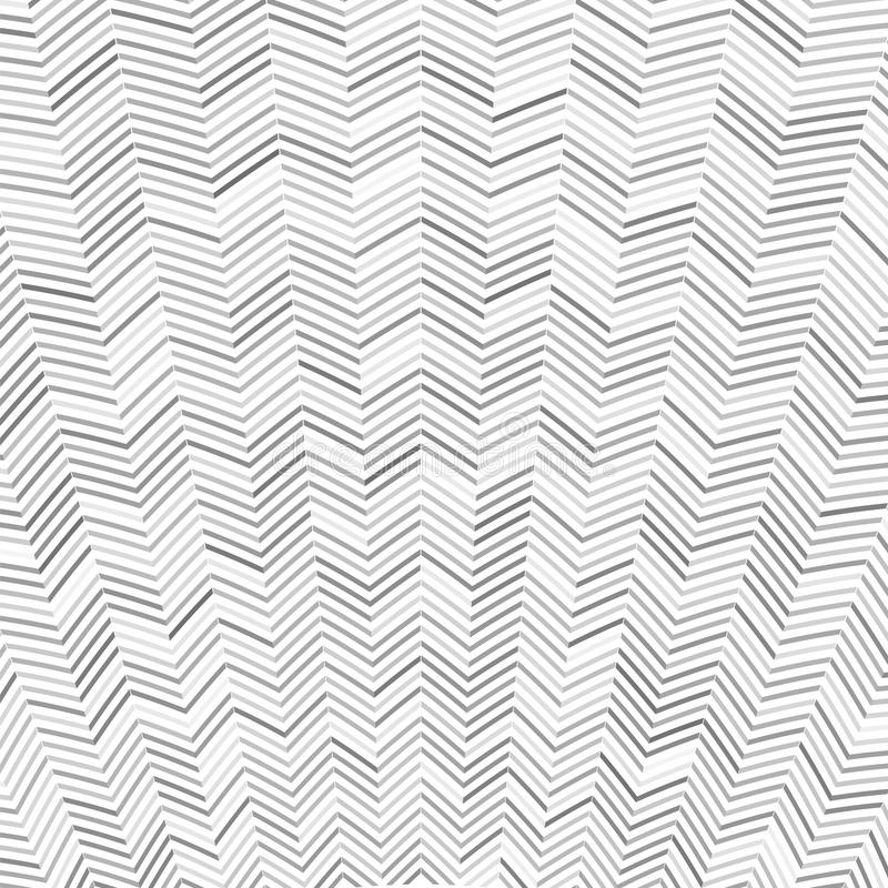 Abstract Zig Zag Pattern stock illustration