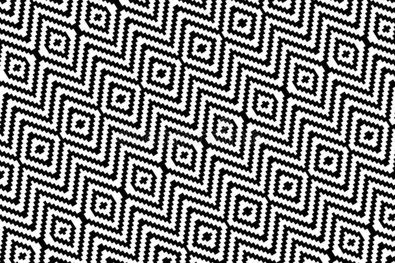 Abstract zigzag background. seamless pattern . Illustration design vector illustration