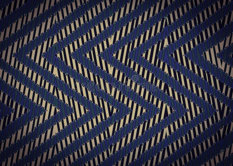 Download Abstract Zwart Blauw Zigzagpatroon Stock Foto - Afbeelding bestaande uit kleur, samenvatting: 54078448