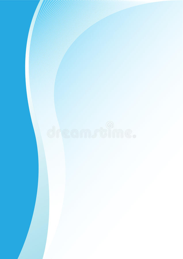 Free Abstract_blue_background_vertical Stock Photography - 12010622