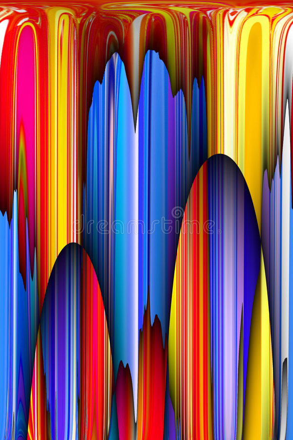 Abstracte 3D Achtergrond royalty-vrije illustratie