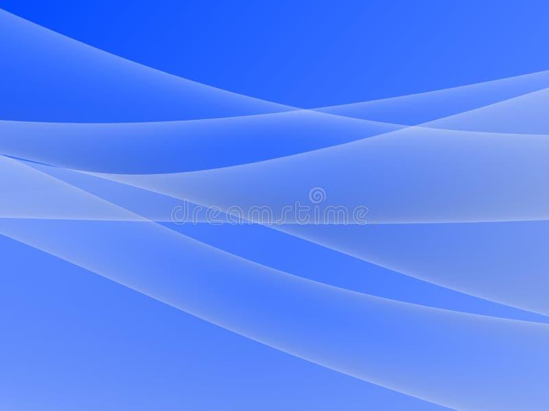Abstracte 3d vorm stock illustratie