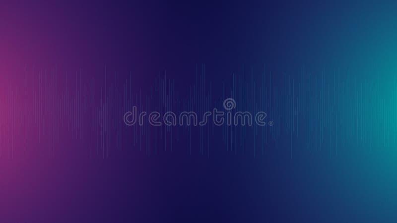 Abstracte achtergrond correcte lijnenfrequentie vector illustratie