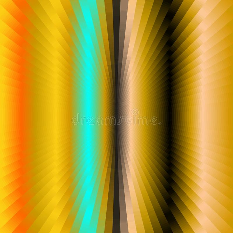 Abstracte achtergrond, creatief beeld in gouden tinten vector illustratie