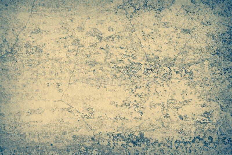 Abstracte achtergrond, de muur waarop het grijze bruine pleister stock foto